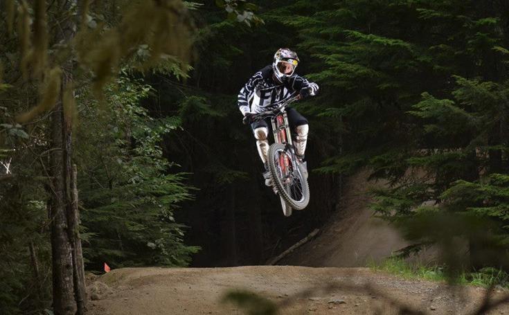 Derek Gehl Mountain Biking